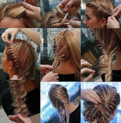 плетем косы пошаговое фото.