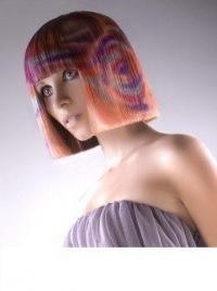 Рисунок на волосы фото