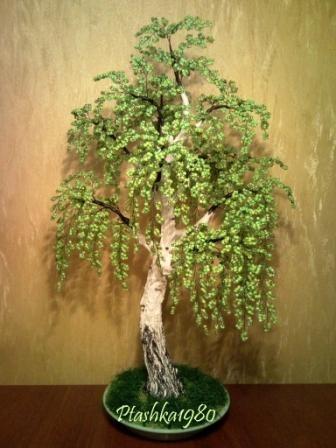 Делаем декоративное дерево своими руками