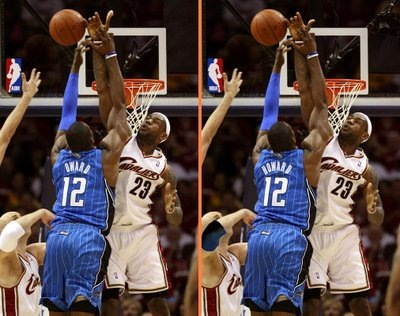 Lebron James Blocks