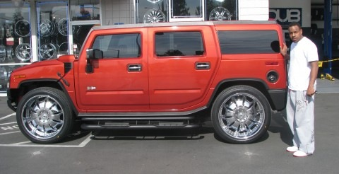 Nate Clements | Hummer H2 on 26s
