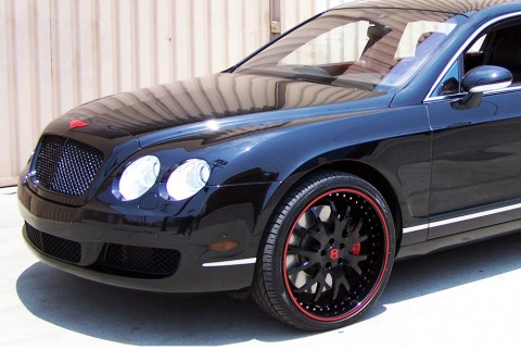 The Game's Bentley Continental GT