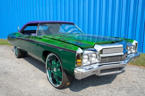 T-Pain's Green Impala Convertible