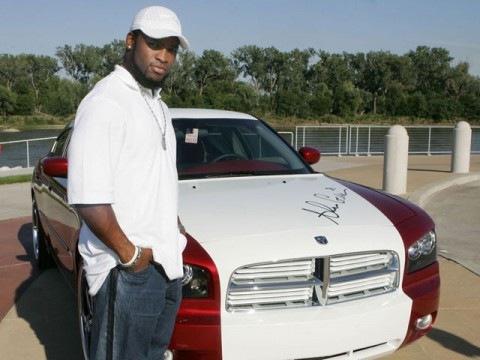 Ahman Green's Dodge Magnum