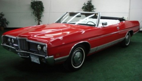 Bid on Sharon Stone's Ford LTD Convertible!