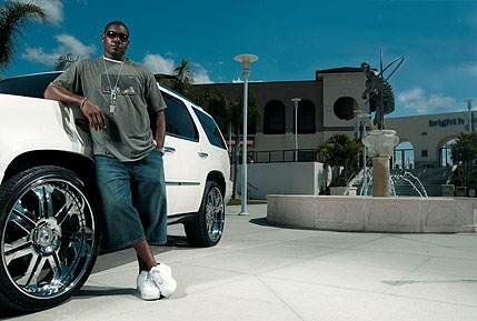 Ryan Howard has a White Escalade