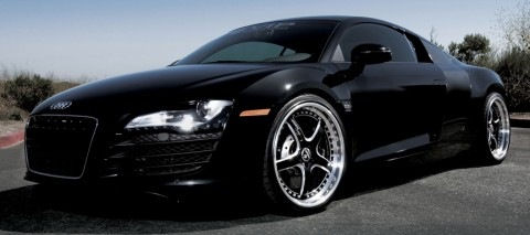Quinton Rampage Jackson's Car – Audi R8 on 22s