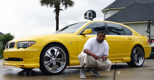 Mannie Fresh and his BMW 760