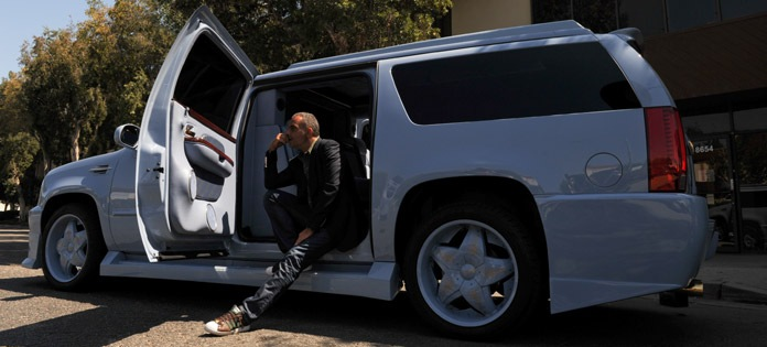 Christian Audigier's Escalade