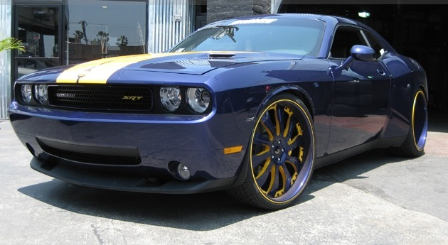 Andrew Bynum – Wide Body Dodge Challenger SRT8