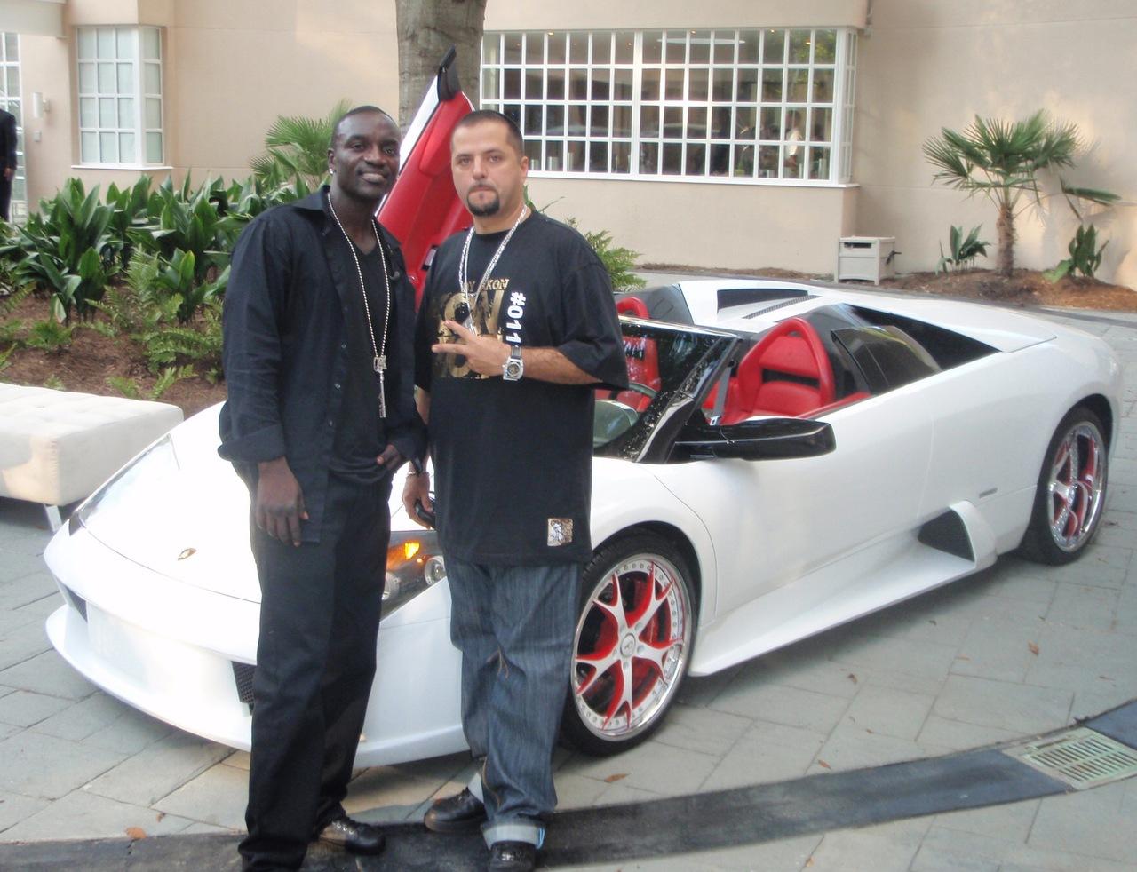 Akon's New Lamborghini Murcielago