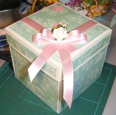 Коробка скрапбукинг своими руками