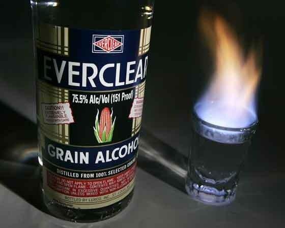 Vo1: Самый крепкий ликер в мире имеет крепость 190% (95% спирта) и...