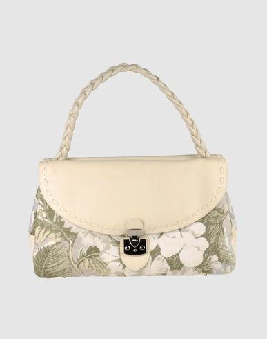 1. Елизавета Майская.  Новая винтажная сумочка, кожа+текстиль.