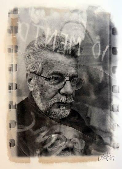 Массимо Берсани. Автопортрет.