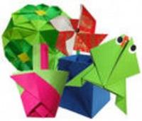 Эта елка на тему оригами здесь: Схемы сборки фигурки, модульное.