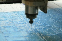 Принимаются заказы на различные виды работ по фигурному раскрою материалов, фрезеровке и гравировке на...