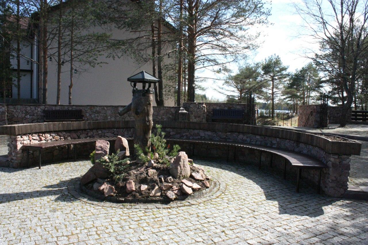 парк в посёлке сосновый берег