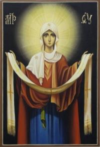 Покров Пресвятой Богородицы Празднуем мы сегодня, братие и сестры о Господе, чудный Покров Божией Матери...
