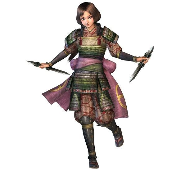 Image It S From Nobunaga Ambition Online Azusa Yoshihiro Sister And ...