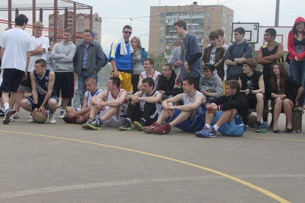 8 мая открытие стритбольного сезона в Одинцово