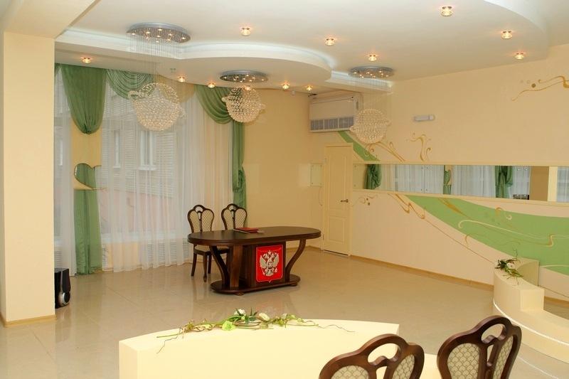 Малый зал дворца бракосочетаний на Минской 1