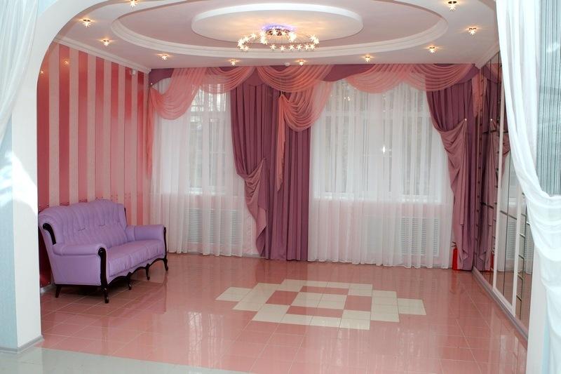 Комната жениха и невесты малого зала дворца бракосочетаний на Минской 1