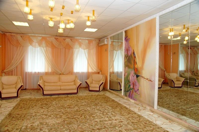 Комната  невесты в большом зале дворца бракосочетания на Минской 1