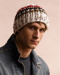 Вязаная зимняя шапка Снежинка и вязаные варежки.  Модные вязаные шапки...