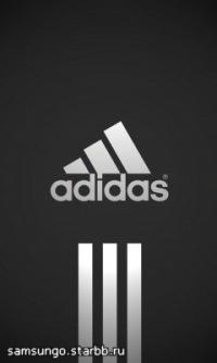 """Скачать бесплатные обои  """"Адидас, Adidas """" для рабочего стола (jpg) в разрешении 240х320 по тегам..."""
