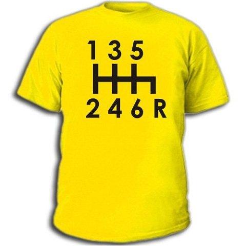 Купить мужскую футболку Коробка передач. увеличить мужскую майку Коробка...