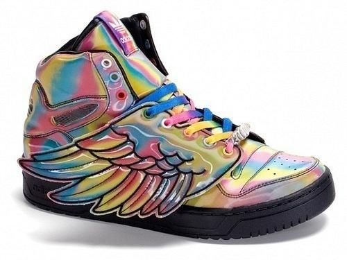 Adidas Originals by Jeremy Scott 2010.  Изображение, мужские туфли...