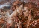 Я - ангел, Господь дал мне крылья Чтоб оберегать и защитить тебя.  Чтоб быть всегда с тобою рядом Когда тяжело тебе...