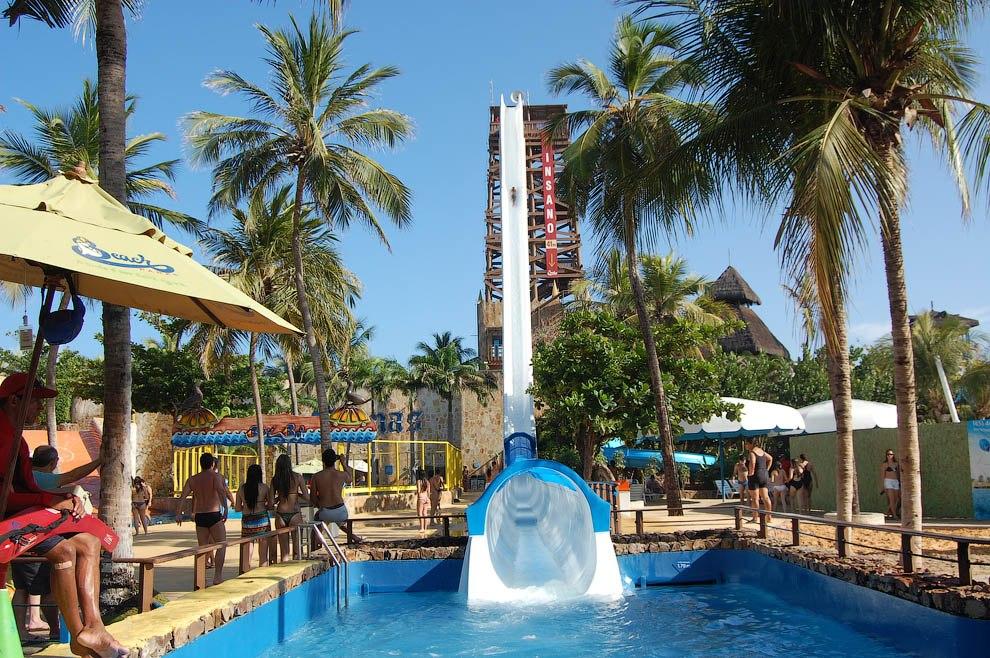 Insano – самая высокая водная горка в мире