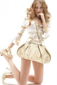 модели в горошек и... Интересные модели юбок представили этой осенью.