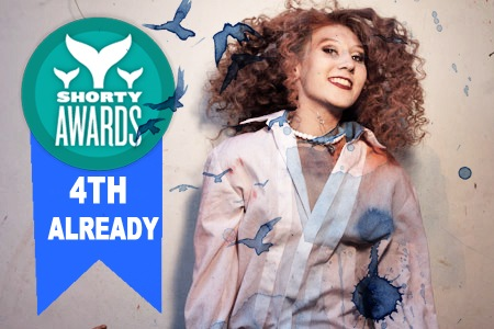 Nominate Lora for a social media award in the Shorty Awards!
