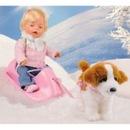 Фотографии Zapf Creation Basic в зимней одежде, Беби борн (Baby born) .