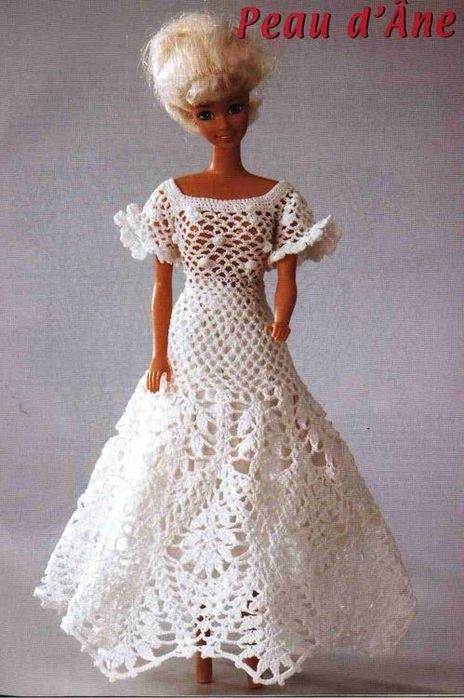 Платья для кукол. Идеи, схемы