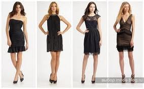 На фото коктейльные платья сезона осень-зима 2011/2012.