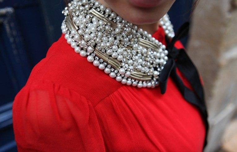 Съемные воротнички - вот что сейчас по-настоящему модно :: Мода & Стиль :: Fashion Stylist