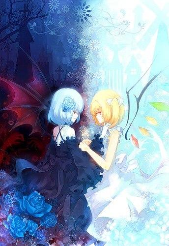 Мода ангелов и демонов vk