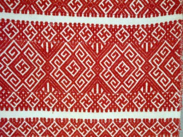 славянская одежда -узоры