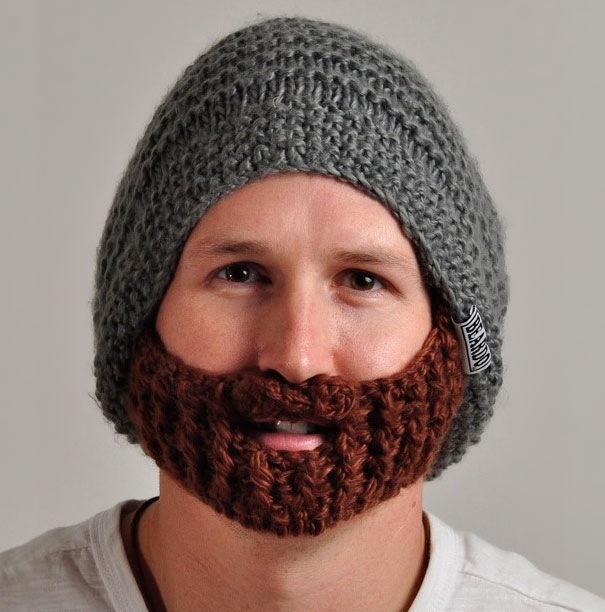 Мужские вязаные шапки - Одежда и мода