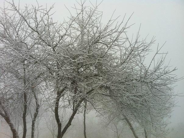 Снег в Азербайджане)