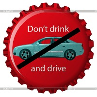 Royalty-Free Stock Векторное изображение: Dont drink and drive.