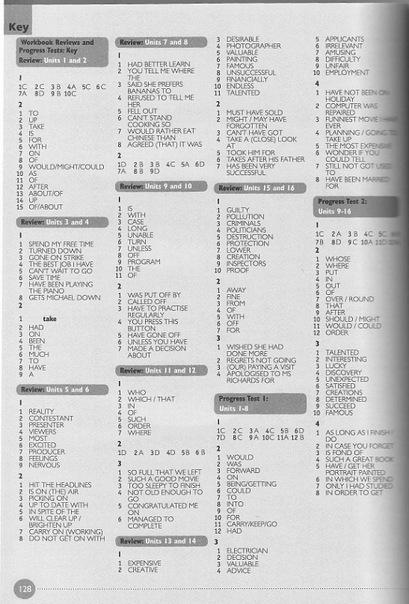 Гдз по английскому gateway b1 workbook