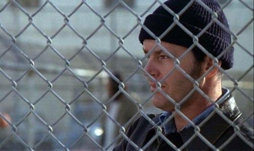Кадр из фильма 'Пролетая над гнездом кукушки' (1975) Милоша Формана.
