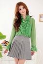 Блузки Зеленые