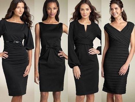 Моду на такого рода платья ввела неподражаемая Коко Шанель, впервые...