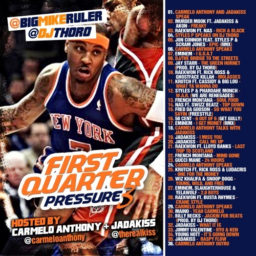 First Quarter Pressure 3.0 (Hosted By Carmelo Anthony & Jadakiss)